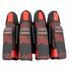 Valken Fate GFX Limited Edition Paintball Pod Pack 4+3 Digi Tiger Red Camo NEW
