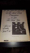 Loletta Holloway Rare Original Rca Promo Poster Ad Framed!