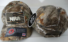 NRA Hunting Smooth Operator USA Flag Camouflage Realtree Adjustable Hat