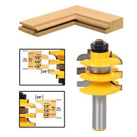 "New 1/2"" Shank Rail & Stile Router Bit Ogee Stacked Woodworking Bearing Cutter"
