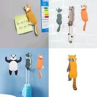Creative Animal Fridge Hook Key Wall Crochet Holder Home Decoration