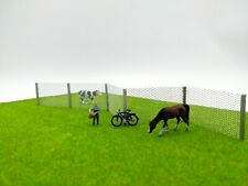 More details for model wire mesh fence - 1 metre chain link fence oo ho 00 railway scenery - new