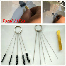 11Pcs Wiper Washer Cleaning Needle Brush Windshield Glass Water Spray Nozzle Jet