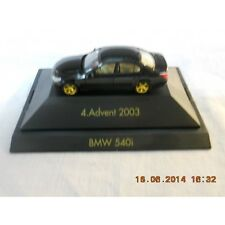 Herpa 20034 4 Advent BMW 540i With Display Box 1:87 HO Scale
