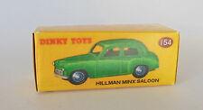 Repro Box Dinky Nr.154 Hillman Minx Saloon grün