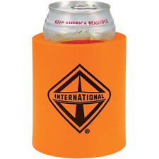 International Trucks Orange & Black Foam Beer Can Cooler Holder