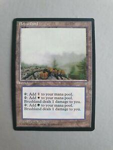 Brushland, MTG Ice Age (1995), Rare Land NM+