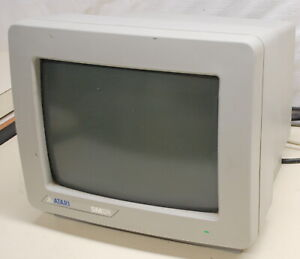 Vintage ATARI SM124 Monochrome Monitor for 520ST and 1040ST - ships worldwide!