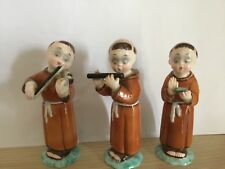 TOSIN Tre Statuine Monaci - LENCI Era