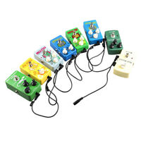 9V DC 1A Guitar Effect Pedal Power Supply Adapter 8 way Daisy Chain Cable>i