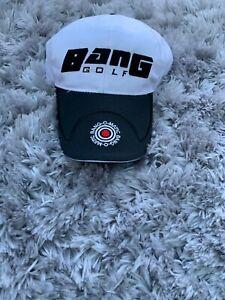 Bang Golf White Baseball Cap