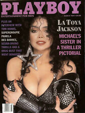 PLAYBOY US March 1989 LaToya Jackson TOM HANKS Laurie Wood PAMELA DES BARRES New