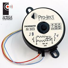 Genuine PRO-JECT Replacement 16V TURNTABLE MOTOR M303 >> VIEW compatibility