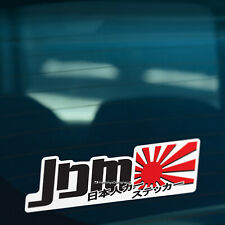 COLOUR JDM JAPANESE Car,Bike,Window,Bumper JDM VAG DRIFT Vinyl Decal Sticker