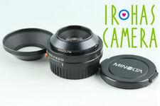 Minolta Auto Bellows Macro 50mm F/3.5 Lens #28171 F4