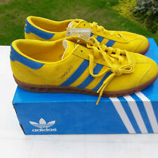 adidas Yellow Striped Trainers for Men