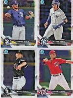 2018 Bowman Baseball CHROME Prospect YOU PICK card from list BCP 1-250