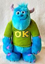 "Disney PIXAR Monsters University 12"" stuffed plush talking My Scare Pal Sulley"