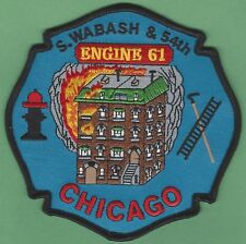 CHICAGO FIRE DEPARTMENT ENGINE COMPANY 61 PATCH