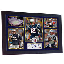 d38327bac8f Tom Brady New England Patriots NFL signed autograph TOM BRADY Framed