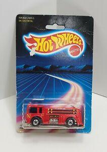 Fire Eater Red 51 Chrome Basic Rainbow Road 1987 Hot Wheels 436