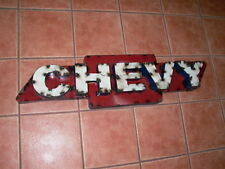 Metal Chevrolet Chevy Advertising Sign