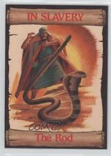 1989 re-Ed Bible Cards In Slavery #9 The Rod Non-Sports Card 0q3