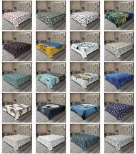 Ambesonne Underwater Flat Sheet Top Sheet Decorative Bedding 6 Sizes