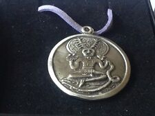 """Cernunnos code dr81  Made From English Pewter On 18"""" Purple Cord Necklace"""