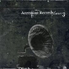 ACCESSION RECORDS VOL.3 CD Digipack 2006 SITD Diary of Dreams DIORAMA