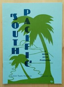 South Pacific programme Southampton Gaumont Theatre 1982 Southern Theatre Prod.