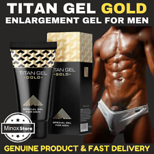 New GOLD TITAN-GEL Powerful Penis Enlarger Lubricant for Men Enhancement Maxsize