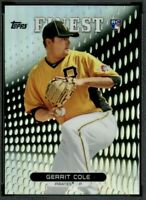 2013 Topps Finest GERRIT COLE Rookie #99 Pittsburgh Pirates RC Yankees HOT