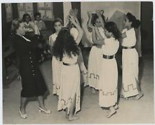 Rome, école de danse, 1960 Vintage silver print Tirage argentique  18x24