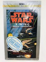 Star Wars X-Wing Rogue Squadron Audio Cassettes 1996 NEW SEALED Book 1Thomas