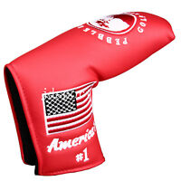 1pc America flag Pebble Beach Golf Putter Head cover for Scotty Cameron Ping