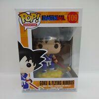 Funko Pop Animation Dragon Ball Goku & Flying Nimbus 109 Vinyl Figure