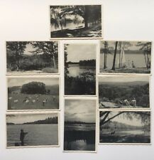 Lot of (9) 1939 NJ Postcards New Jersey Nation's Playground various scenes