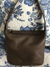 FURLA Women's VINTAGE HOBO LEATHER SMALL BAGUETTE Brown