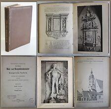 Gurlitt -Bau- und Kunstdenkmäler Königreich Sachsen 1895 - 17. Heft Leipzig - xz