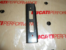 NEW GENUINE DUCATI MONSTER CARBON RADIATOR GUARD L OR R 24610741A (02)