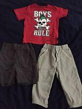 Baby Boy 2t-3t Ralph Lauren Pants Shirt Shorts Clothes