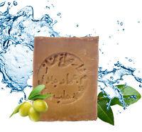 Aleppo Seife 60% Oliven 40% Lorbeer handgemacht vegan Alepposeife - 200 g.