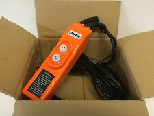 NEW IN BOX DUKE UP/DOWN HOIST / CRANE CONTROL PENDANT 2M CABLE
