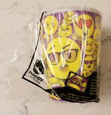 New McDonald's Emoji Cup Happy Meal Toy 2016 Plastic 12 Ounce BPA Free Drinkware