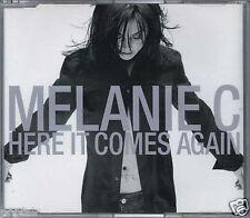MELANIE C - HERE IT COMES AGAIN 2003 EU CD SINGLE VIRGIN - VSCDT1842 SPICE GIRLS