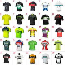 Team Cycling Jersey Short Sleeve Bike Racing Shirts