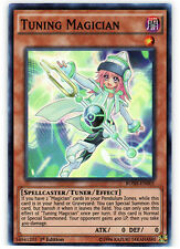 YuGiOh Tuning Magician - BOSH-EN001 - Super Rare - 1st Edition Near Mint
