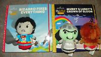 Hallmark itty bittys Storybook Lot Rainbow Brite - Hurky & Lurky and DC Bizarro
