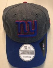 New York NY Giants New Era 9Twenty NFL Elite Shoreline Adjustable Hat Cap New